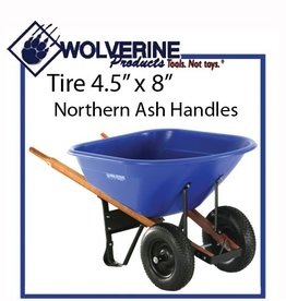 Wolverine 8 Cu Ft Poly Wheelbarrow