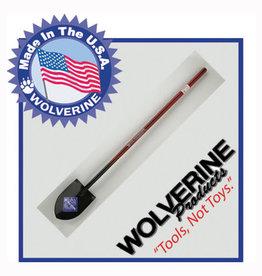 """Wolverine #2 Round Point Shovel, 48"""" Steel Handle SL600"""