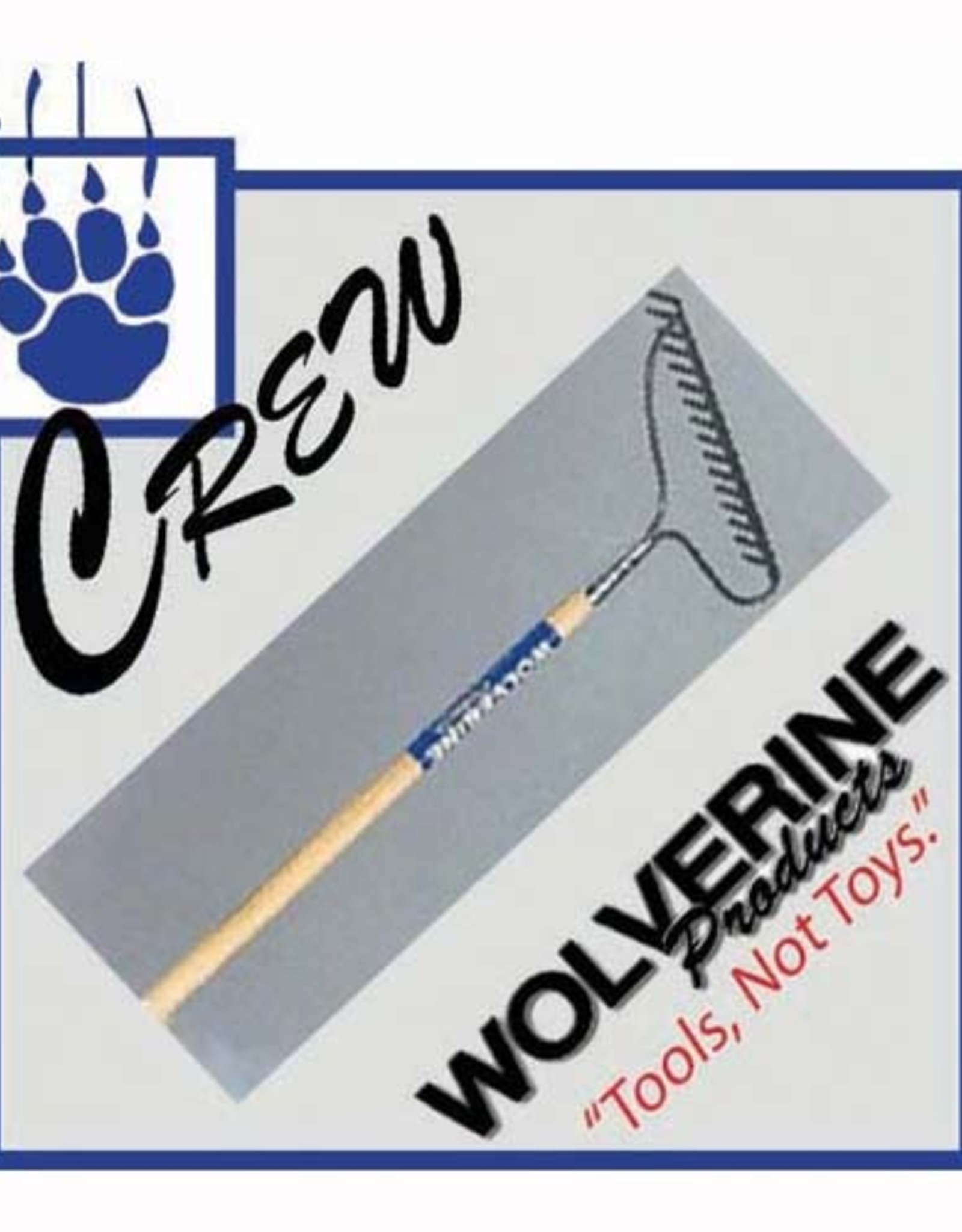 "Wolverine 16 Tine Bow Rake, 54"" WD Handle CW-W54WBR"