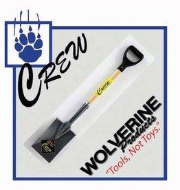 "Wolverine Garden Spade, 29"" wood handle, D grip"