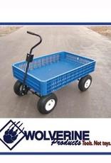 Wolverine Poly Utility Wagon 36 x 46 x 7.