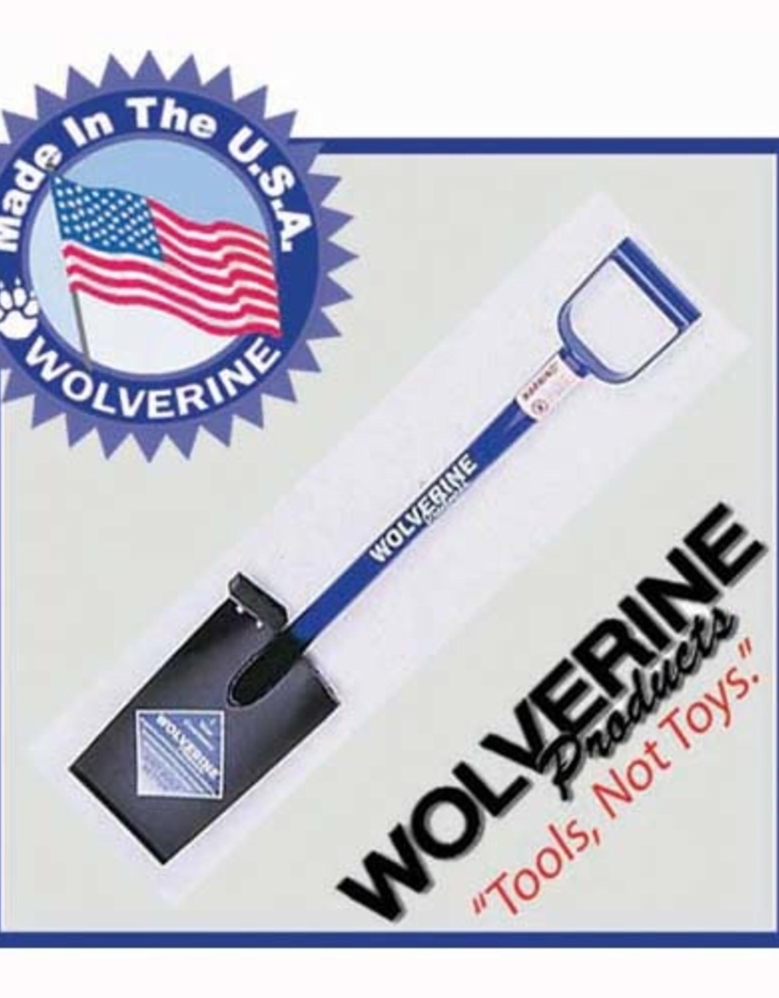 "Wolverine 12"" Straight Blade Spade Shovel, D-handle DH12SB"