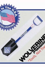 "Wolverine Wolverine 12"" Diamond Pt , Shovel 26"" Steel Handle"