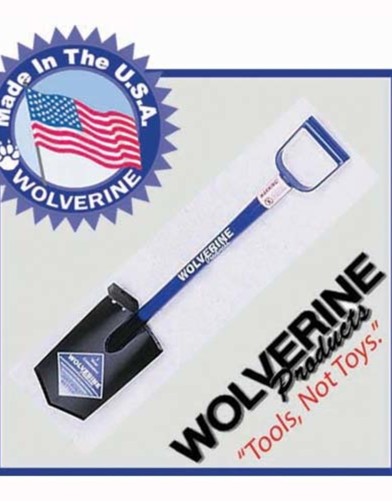Wolverine Steel spade, diamond pt