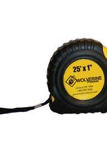 Wolverine 25' Tape Measure TM25