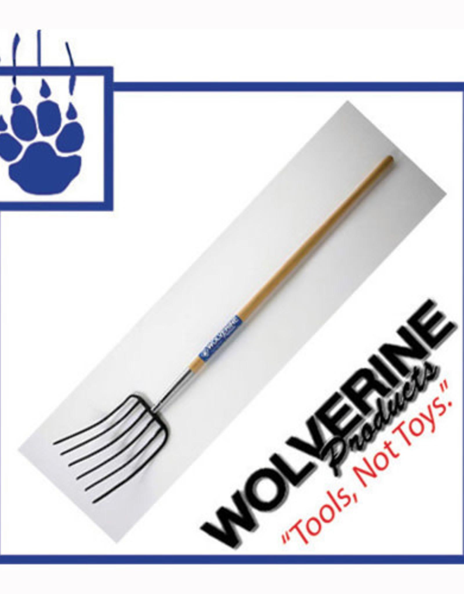 Wolverine 6 Tine Mulch Fork