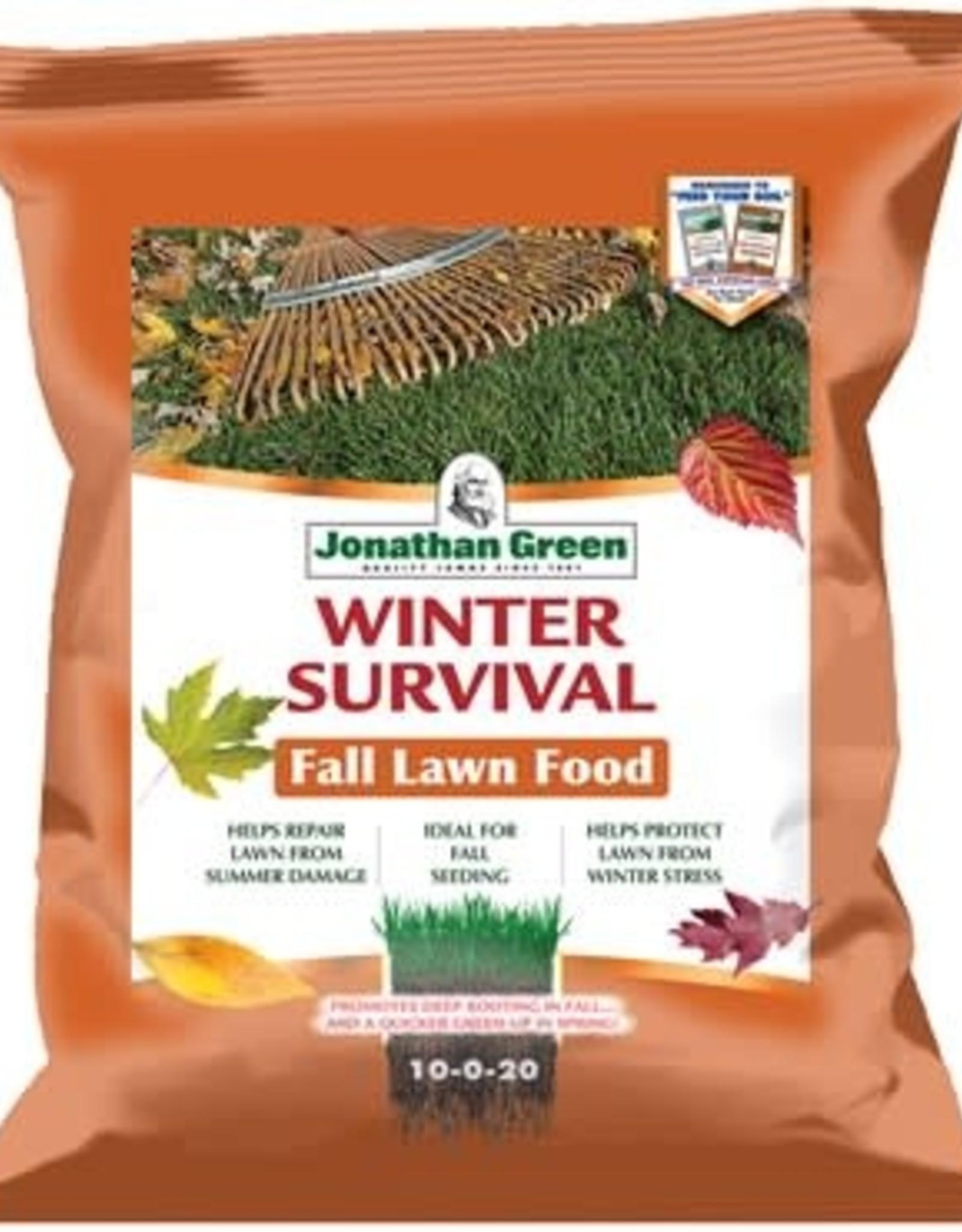 Jonathan Green Winter Survival Fall Lawn Food 15#
