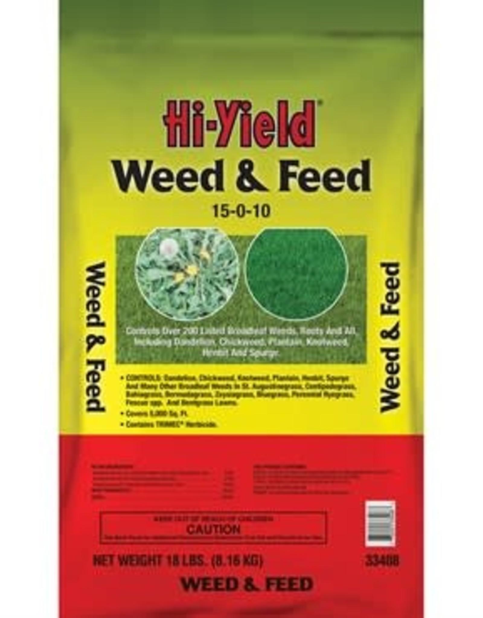 Hi-Yield Weed & Feed Fertilizer