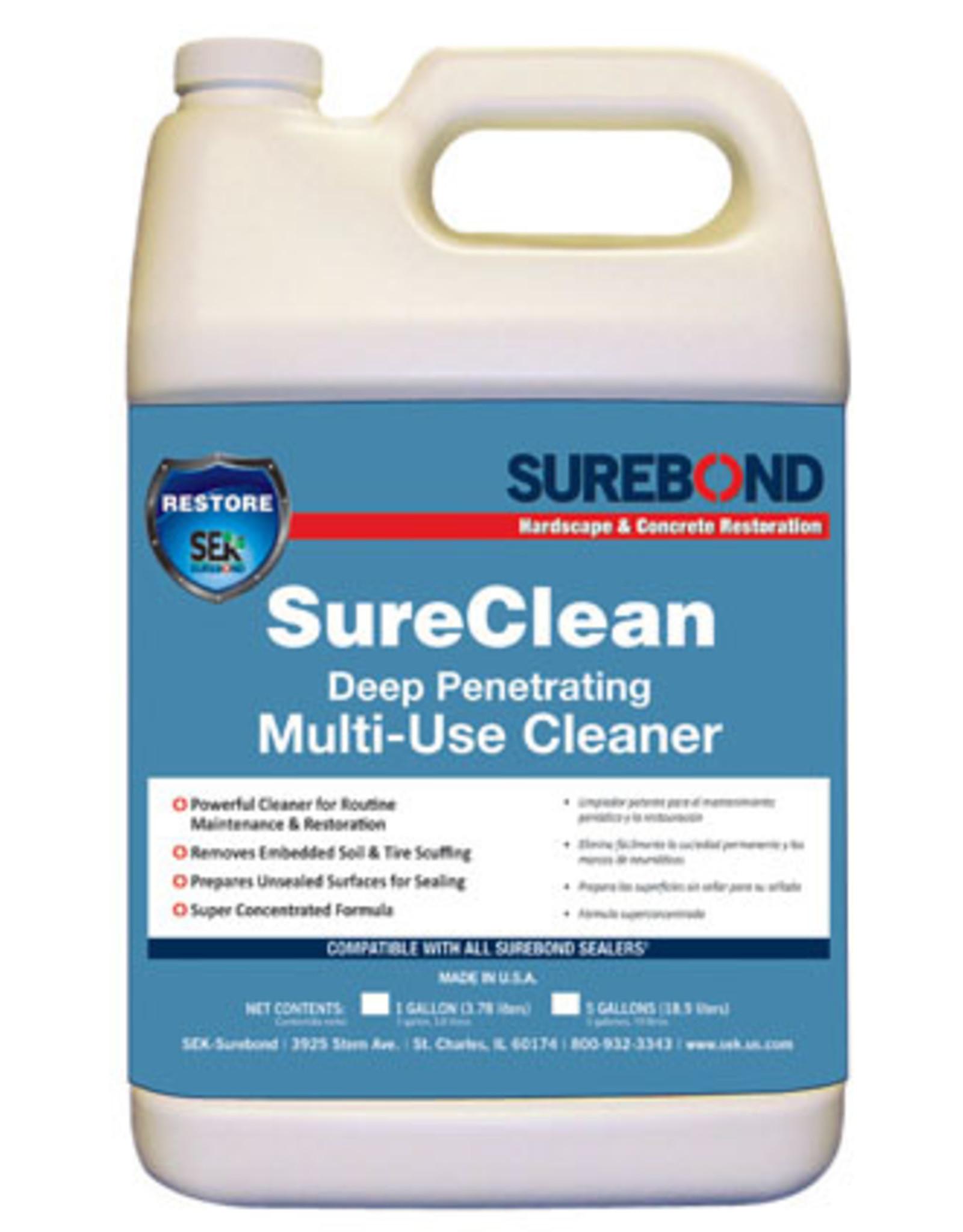 SEK Surebond SureClean Deep Penetrating Multi-Use Cleaner, Gallon