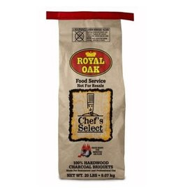 Royal Oak 100% Charcoal Briquettes, 20 Lb