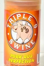 Triple 9 Swine Pork Rub Perfection, 12oz.