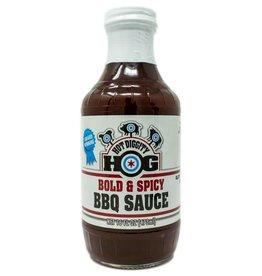 Hot Diggity Hog Bold & Spicy BBQ Sauce, 16oz.