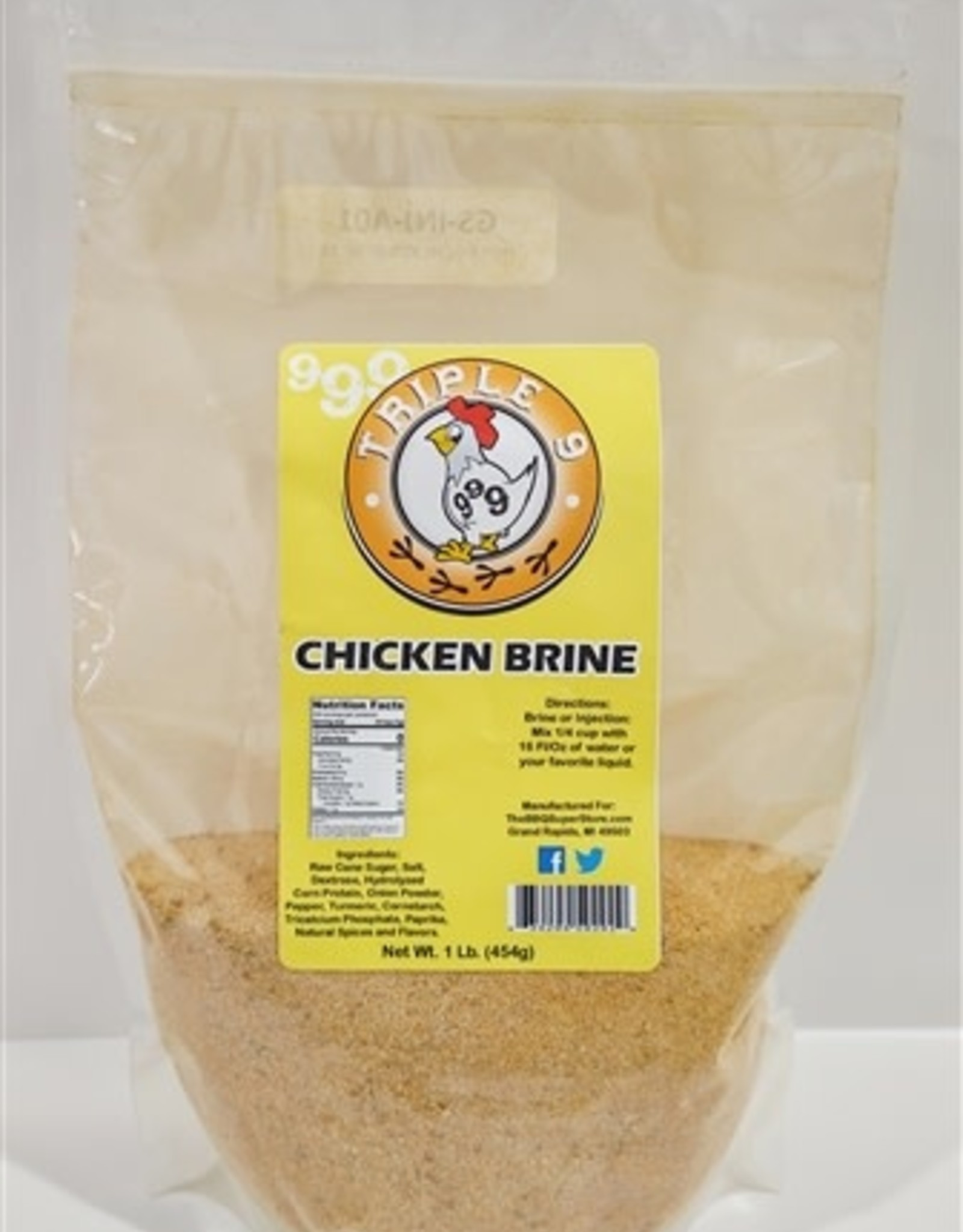 BBQ Superstore Triple 9 Chicken Brine