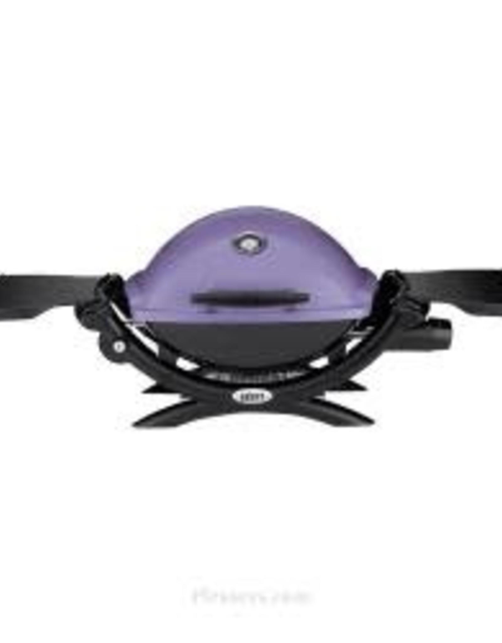 Weber Weber® Q1200® Gas Grill LP Purple 51200001