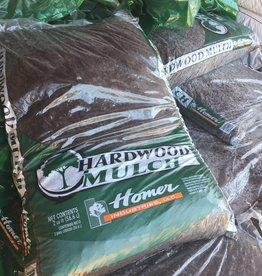 Homer Industries Bean's Blend Hardwood Mulch, 2cf bag