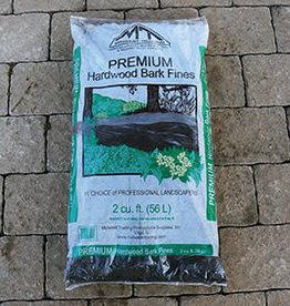 Midwest Trading Bark Fines Hardwood Bark Mulch, 2cf bag