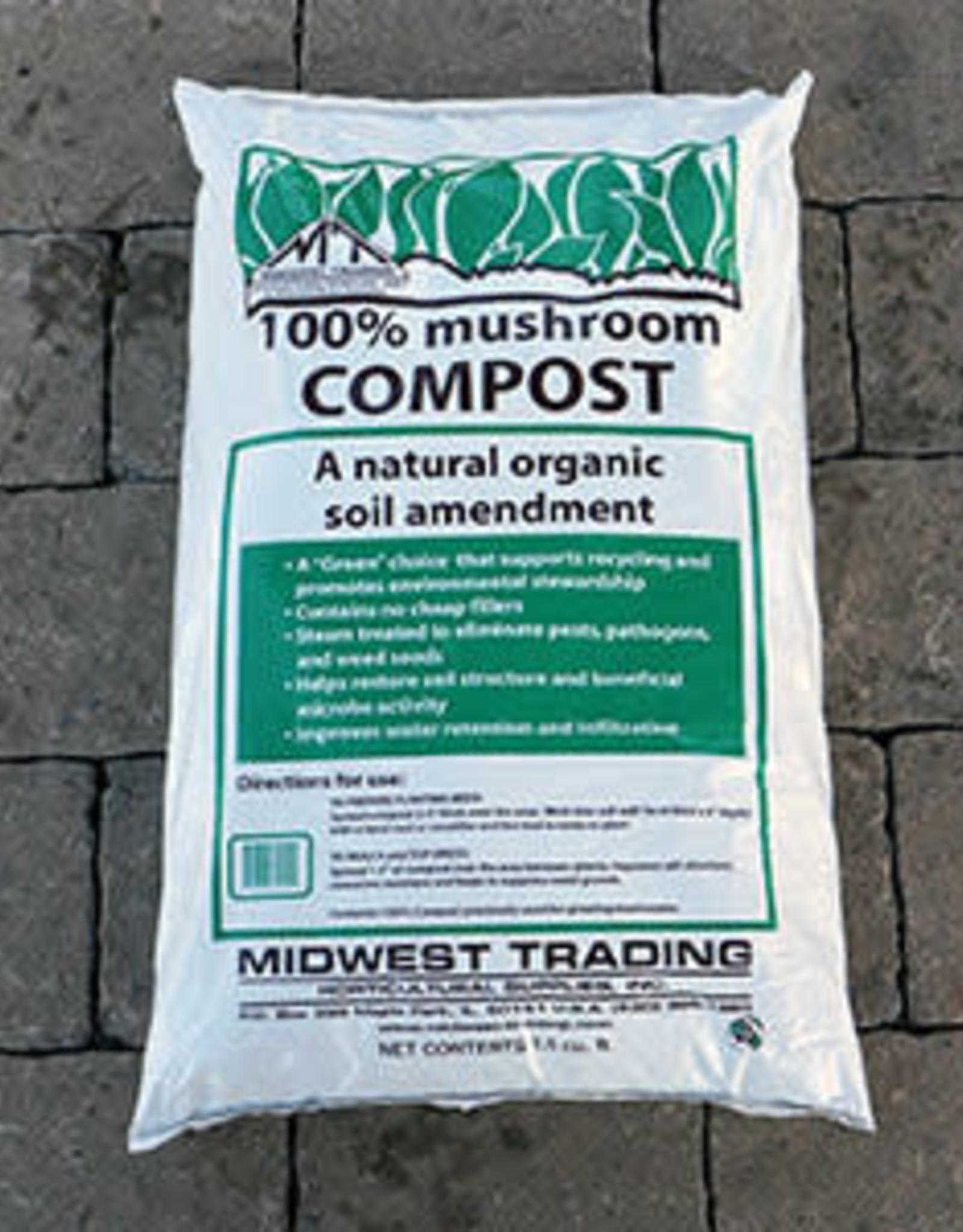 Midwest Trading Mushroom Compost, 1.5cf bag