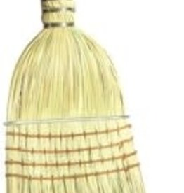 "Wolverine 17"" Warehouse Broom, Wood Handle W17WB"