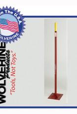 "Wolverine Dirt Tamp 10""x10"" 54"" Steel Handle S1010T"
