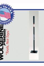 "Wolverine Dirt Tamp 8""x8"" 48"" Steel Handle S88SDT"