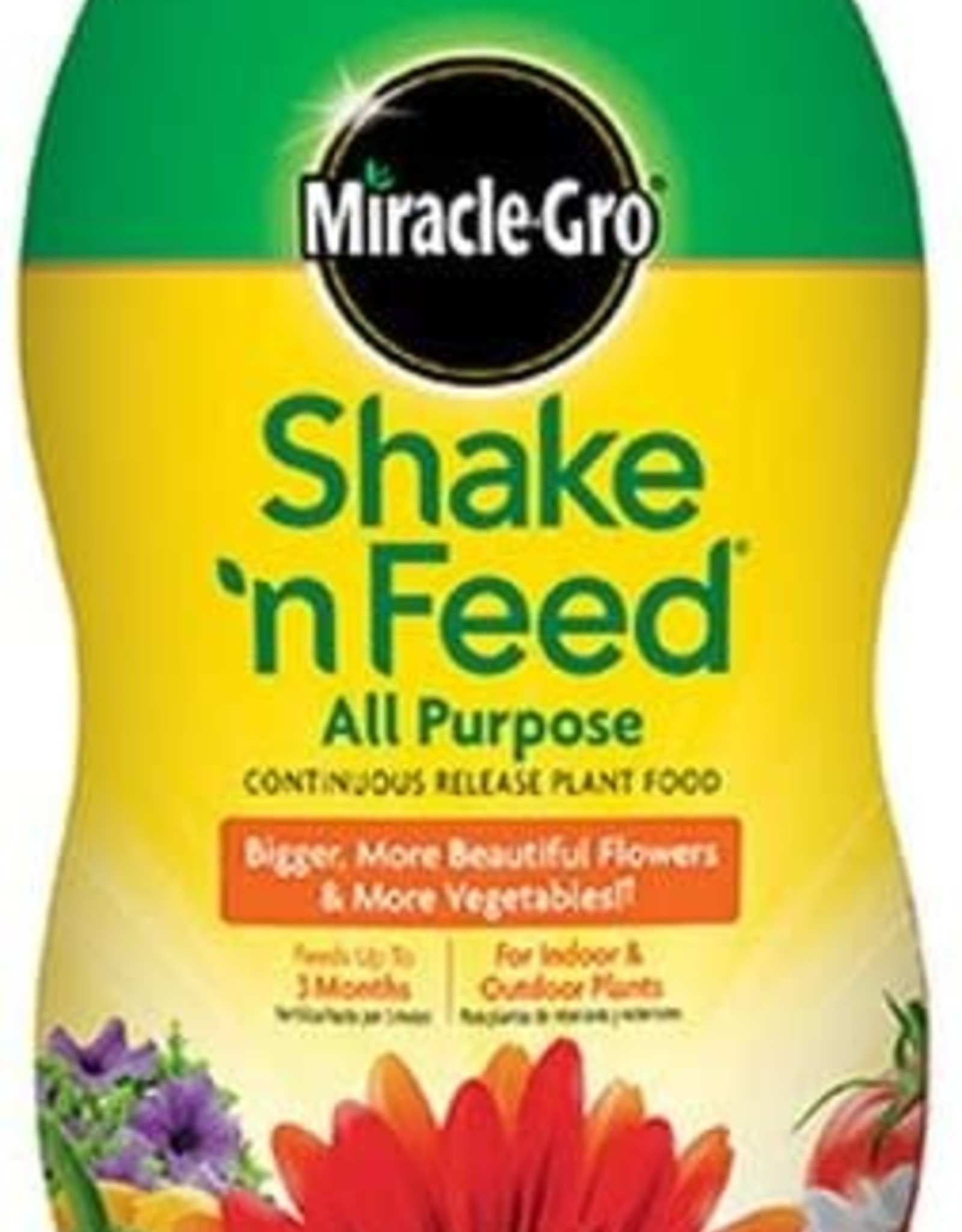 Miracle-Gro Shake 'n Feed Continuous Release Fertilizer 1.8lbs