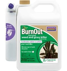 Burnout Weed & Grass Killer RTS with Power Sprayer