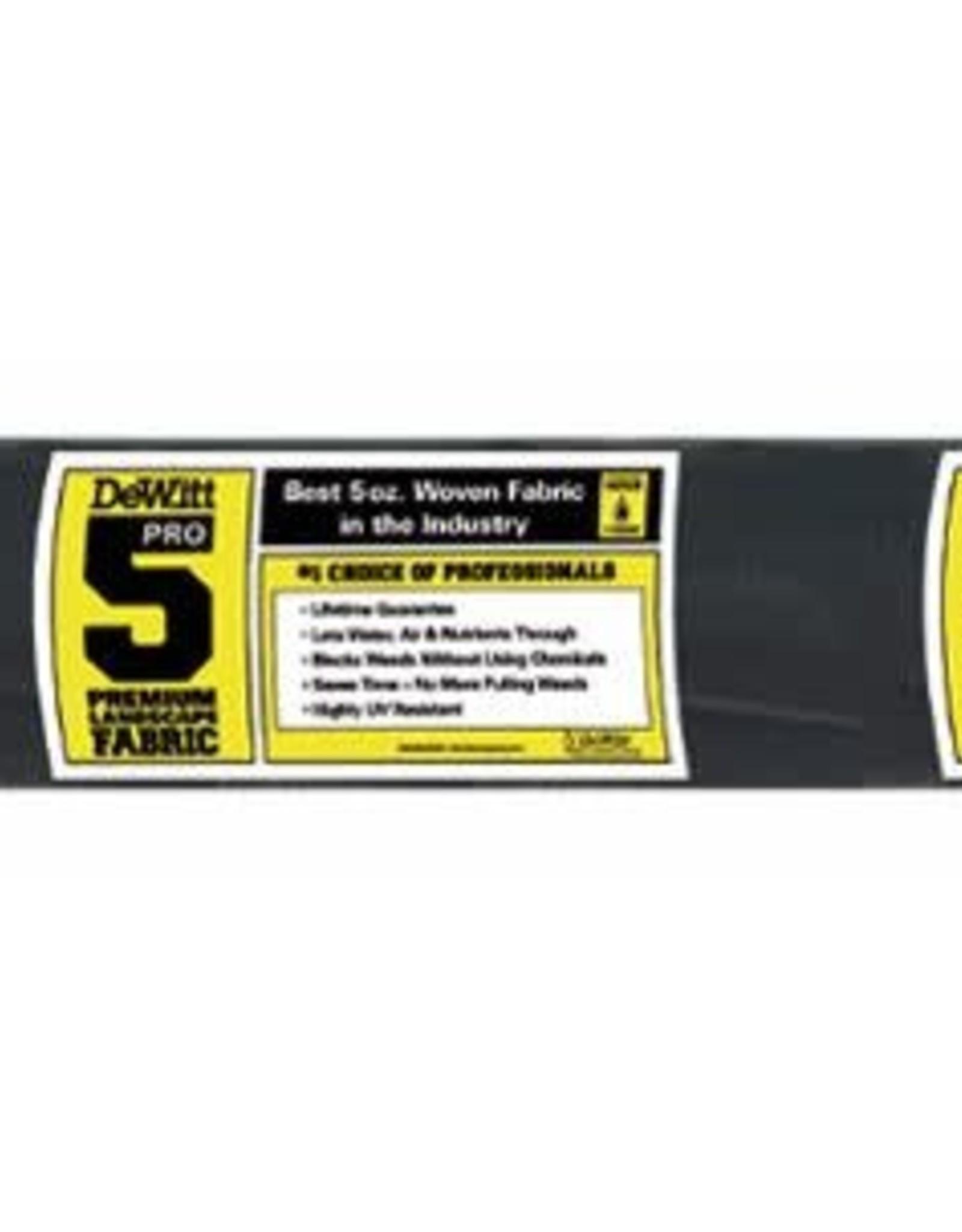 DeWitt 5 oz.  4'x250'  Pro 5 Barrier Farbric