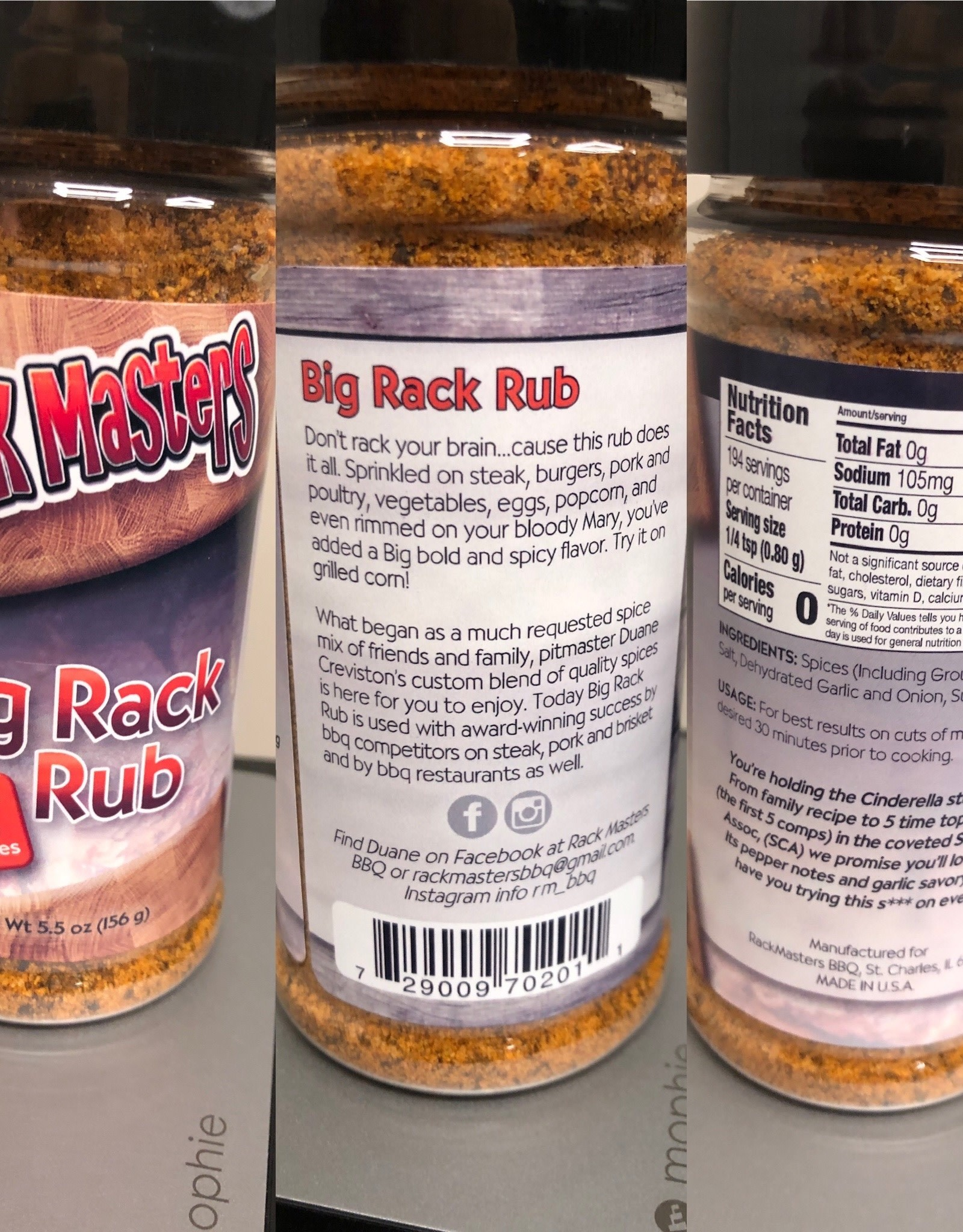 Rack Masters Big Rack Rub