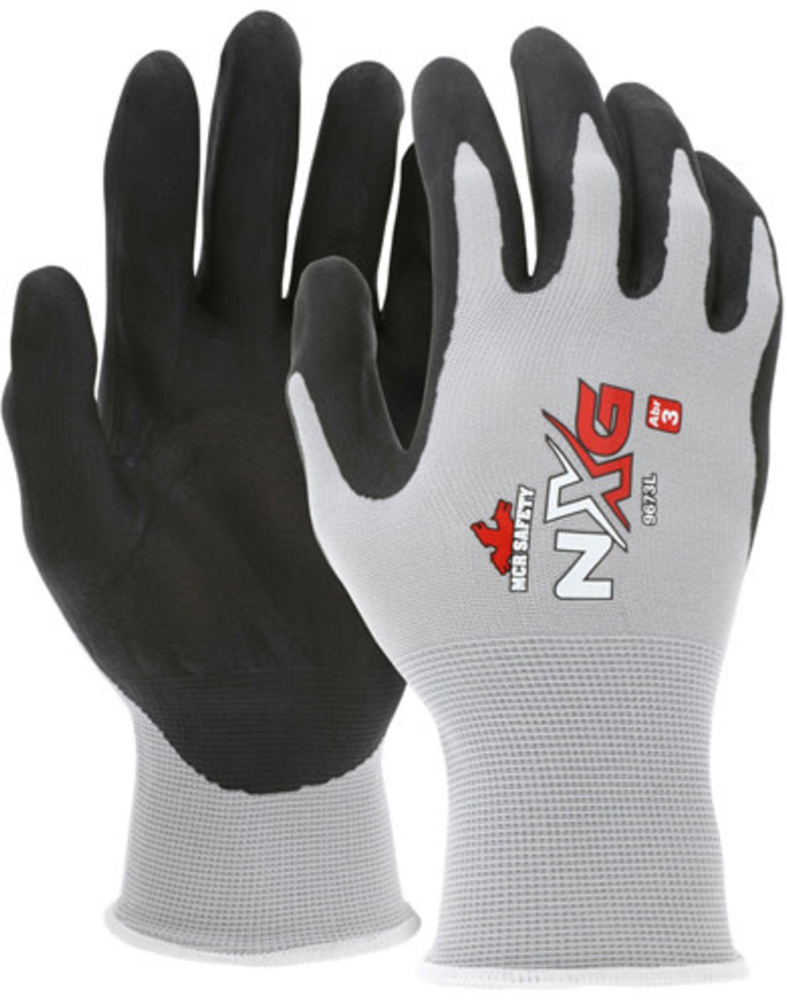 Wolverine Nylon shell & nitrile dipped glove