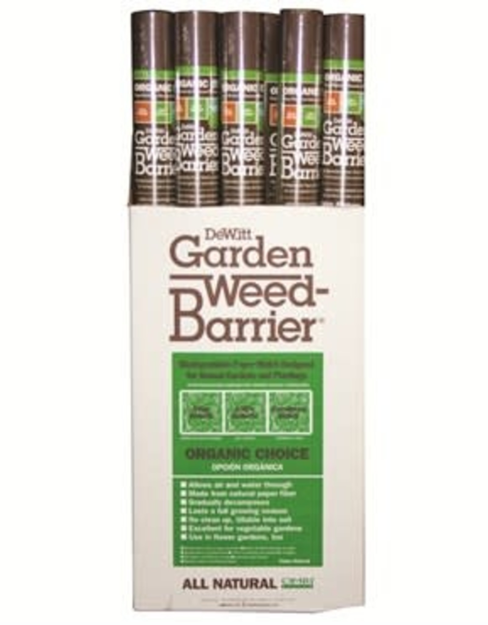 DeWitt Weed Barrier Fabric 3' x  40' Organic