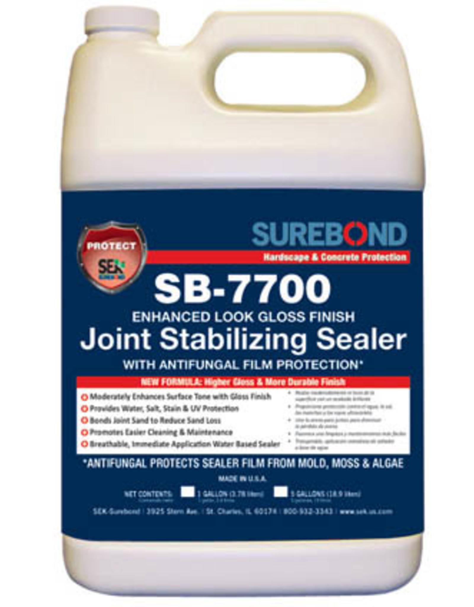 SEK Surebond SB-7700 Gloss Joint Stabilizing Sealer with Anti-Fungal Gallon