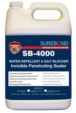 SEK Surebond SB-4000 Water Repellent & Salt Blocker Invisible Penetrating Sealer Gallon