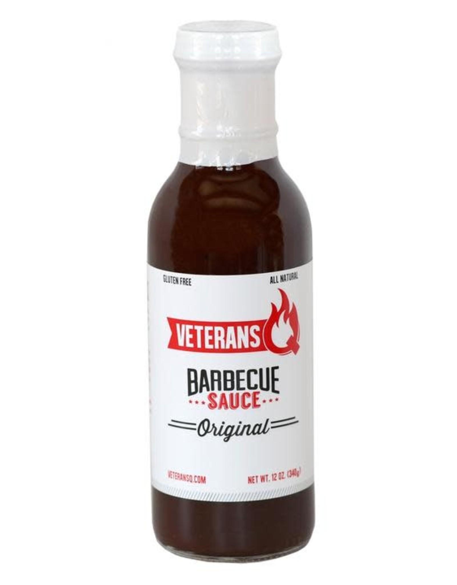 Veteran's Q Original Barbecue Sauce 12oz.