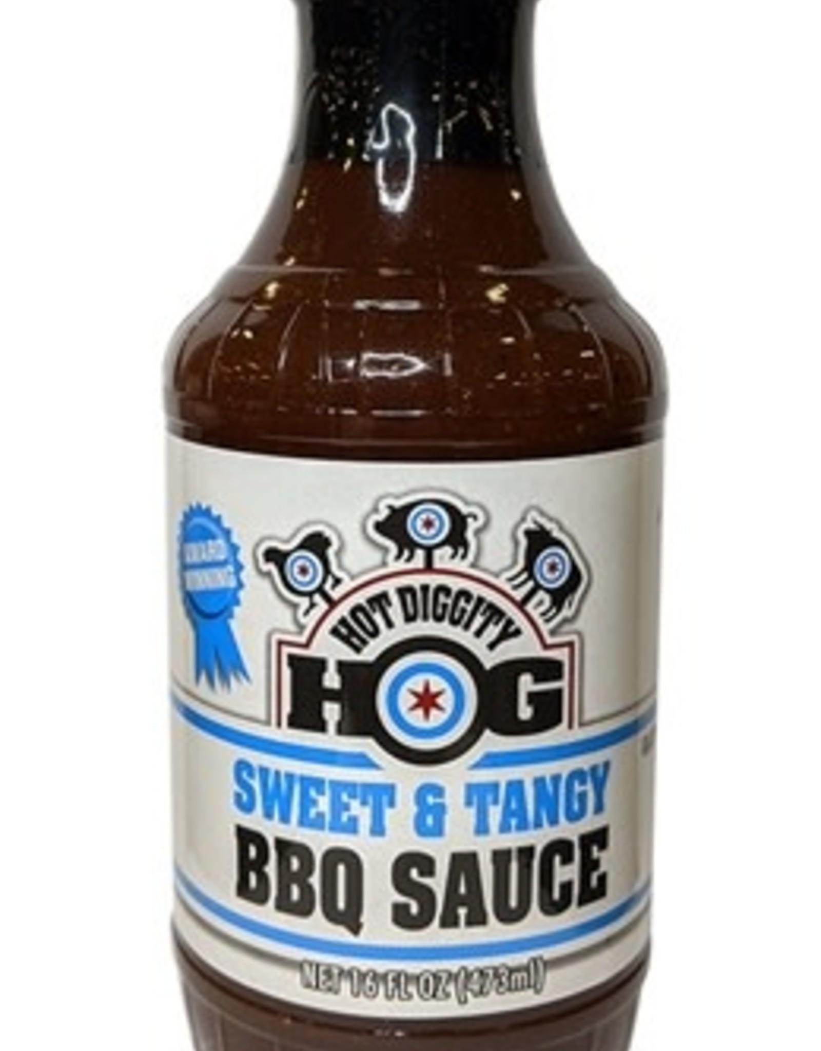 Hot Diggity Hog Sweet & Tangy BBQ Sauce, 16oz.