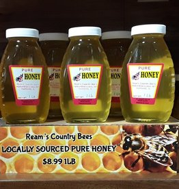 Ream's Country Bees Pure Honey, 1lb
