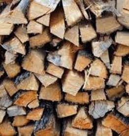 Hickory Firewood Face Cord