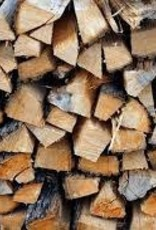 Hickory Firewood Qtr Face Cord