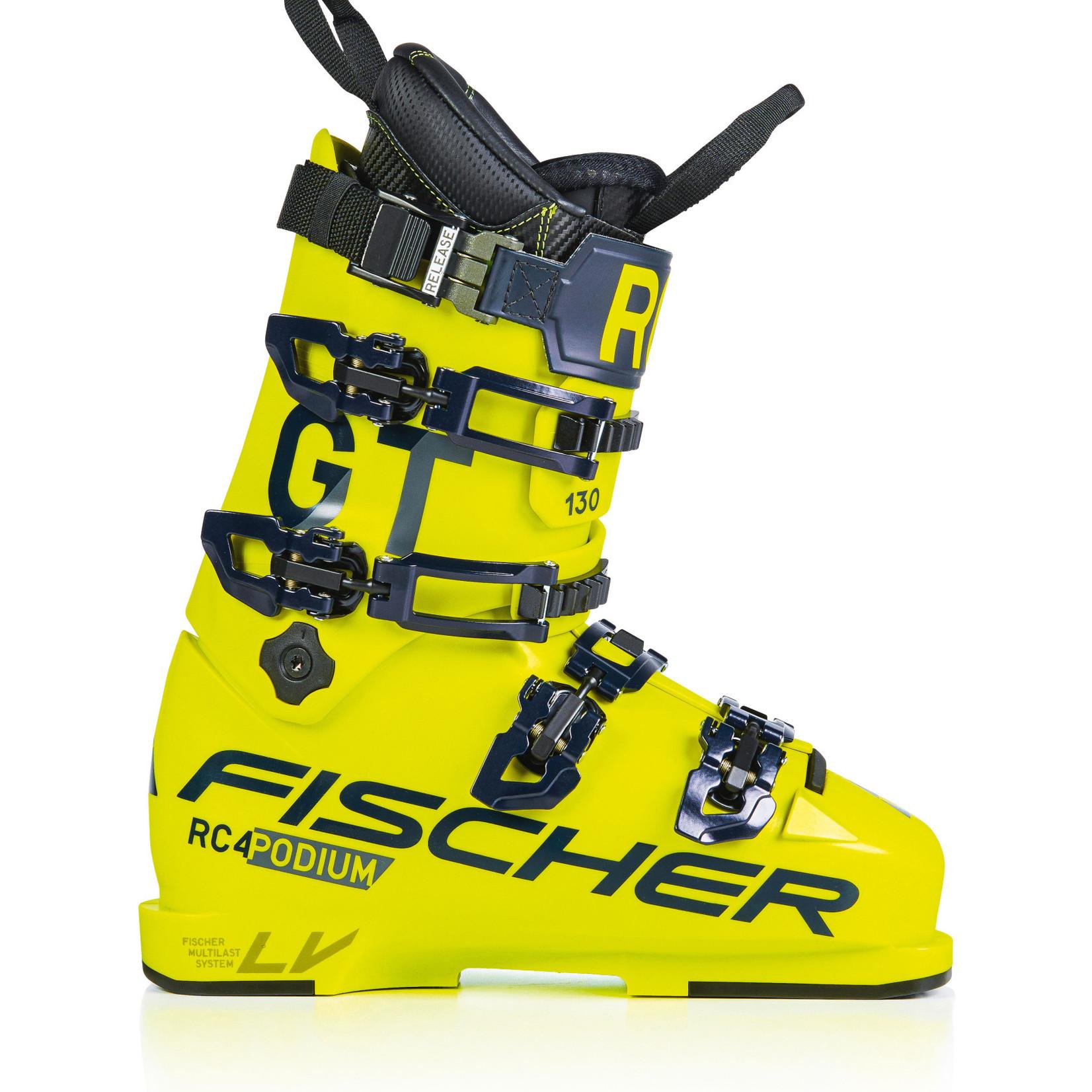 Fischer Fischer RC4 Podium 130 GT   yellow/yellow