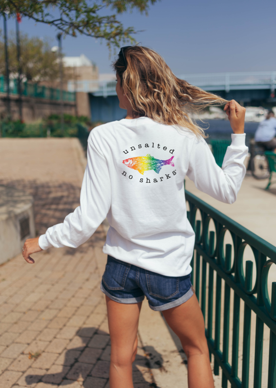 Rainbow Fish Long Sleeve Tee