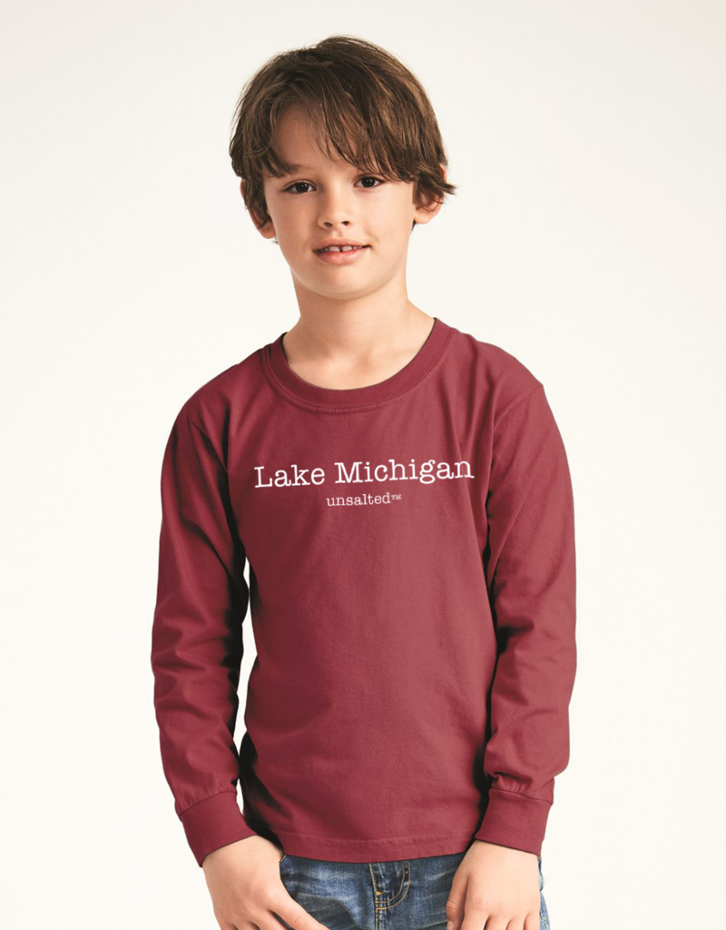 Fish Back Kids Long Sleeve Tee