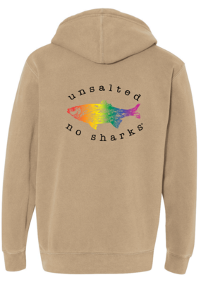 Rainbow Fish Heavyweight Hoodie
