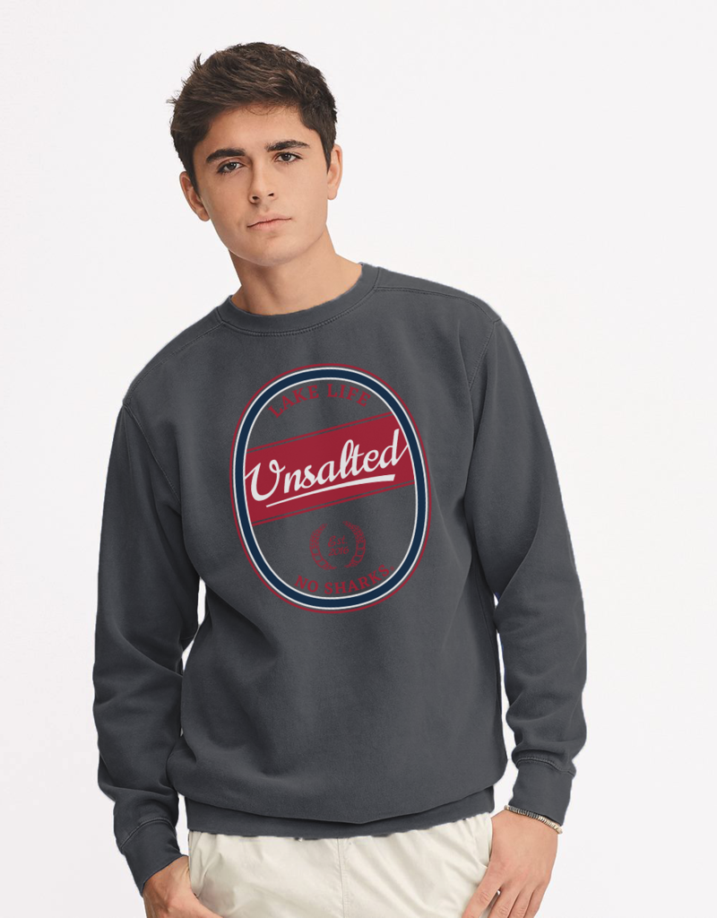 Beer Can Crewneck Sweatshirt
