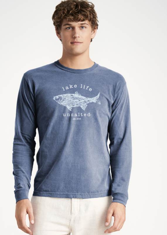 Lake Life Unsalted  Long Sleeve Tee