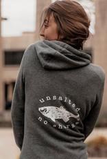 Fish Back Women's Sweatshirt Tunic Dress