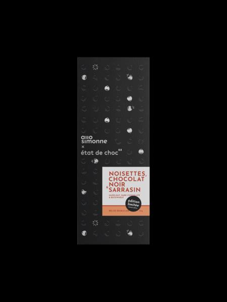 Allo Simonne Palette chocolat - chocolat noir érable, avec tartinade au sarrasin à l'intérieur