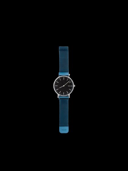 Solios Solar Noir - Lux Maille Bleue