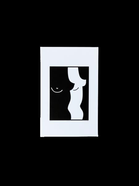 Sévigny Série Le corps – affiche risographe Boobs