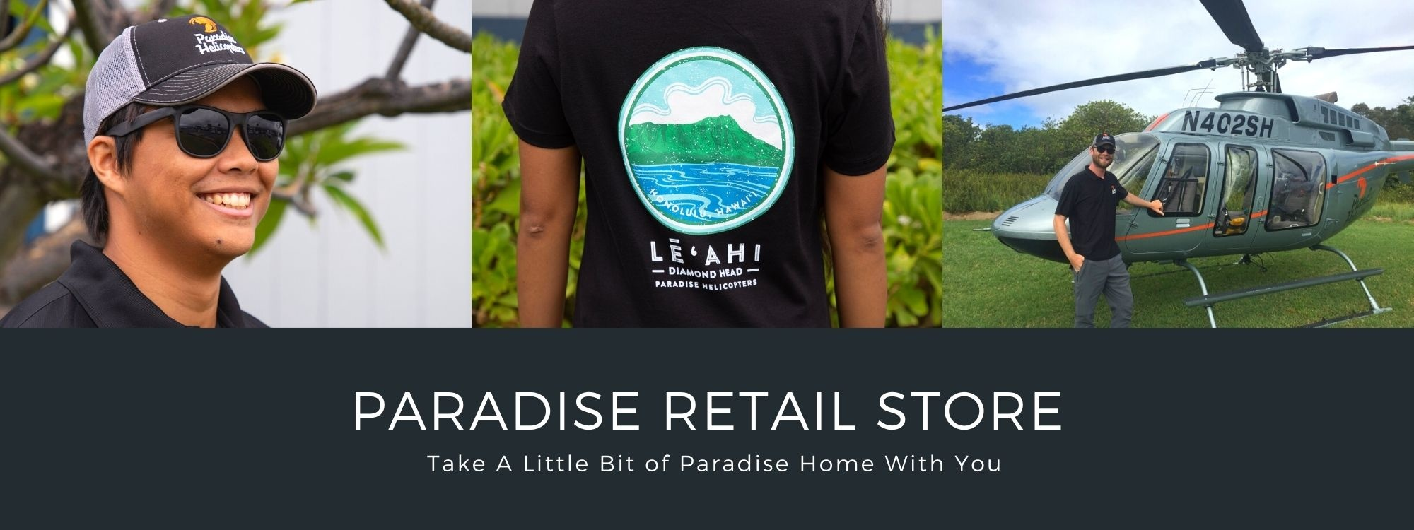 Paradise Helicopters Retail Store