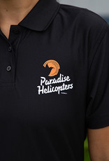 Golf Polo with Paradise Helicopters Logo