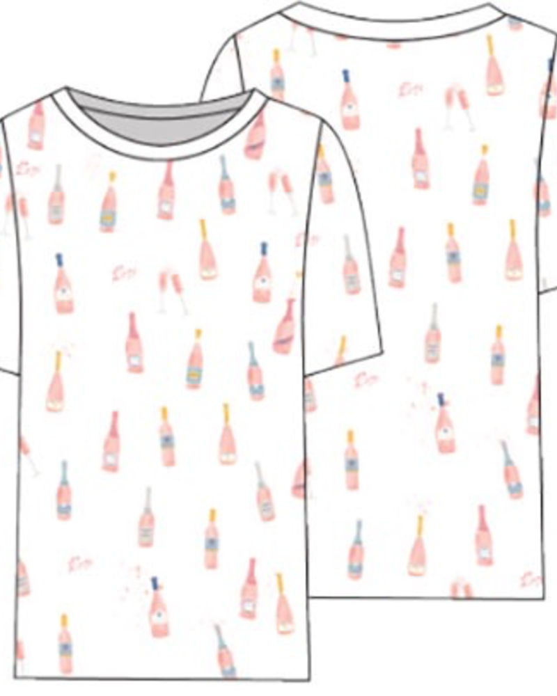 Chaser Champagne Bottle Tee